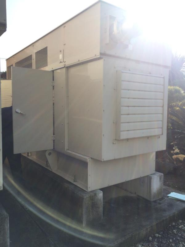 発電機【2512034】三菱非常用発電機340KVA買取