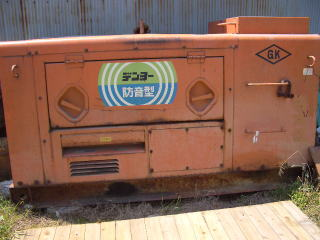 中古機械 ヤンマー製中古発電機買取
