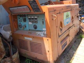 中古機械 デンヨー製中古発電機買取