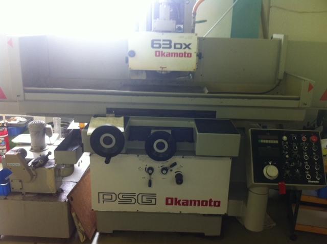 研削盤【2306073】岡本製中古研削盤PSG-63DX1994年製買取