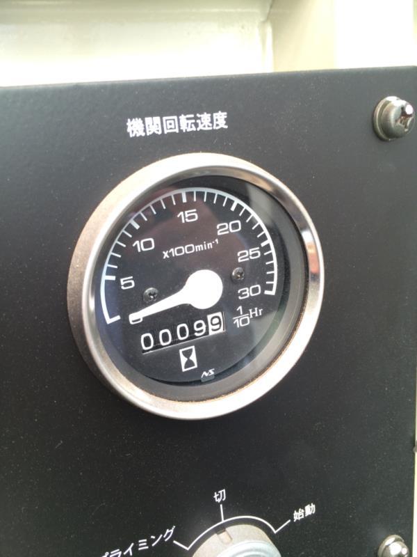 中古機械信濃電気製発電機買取