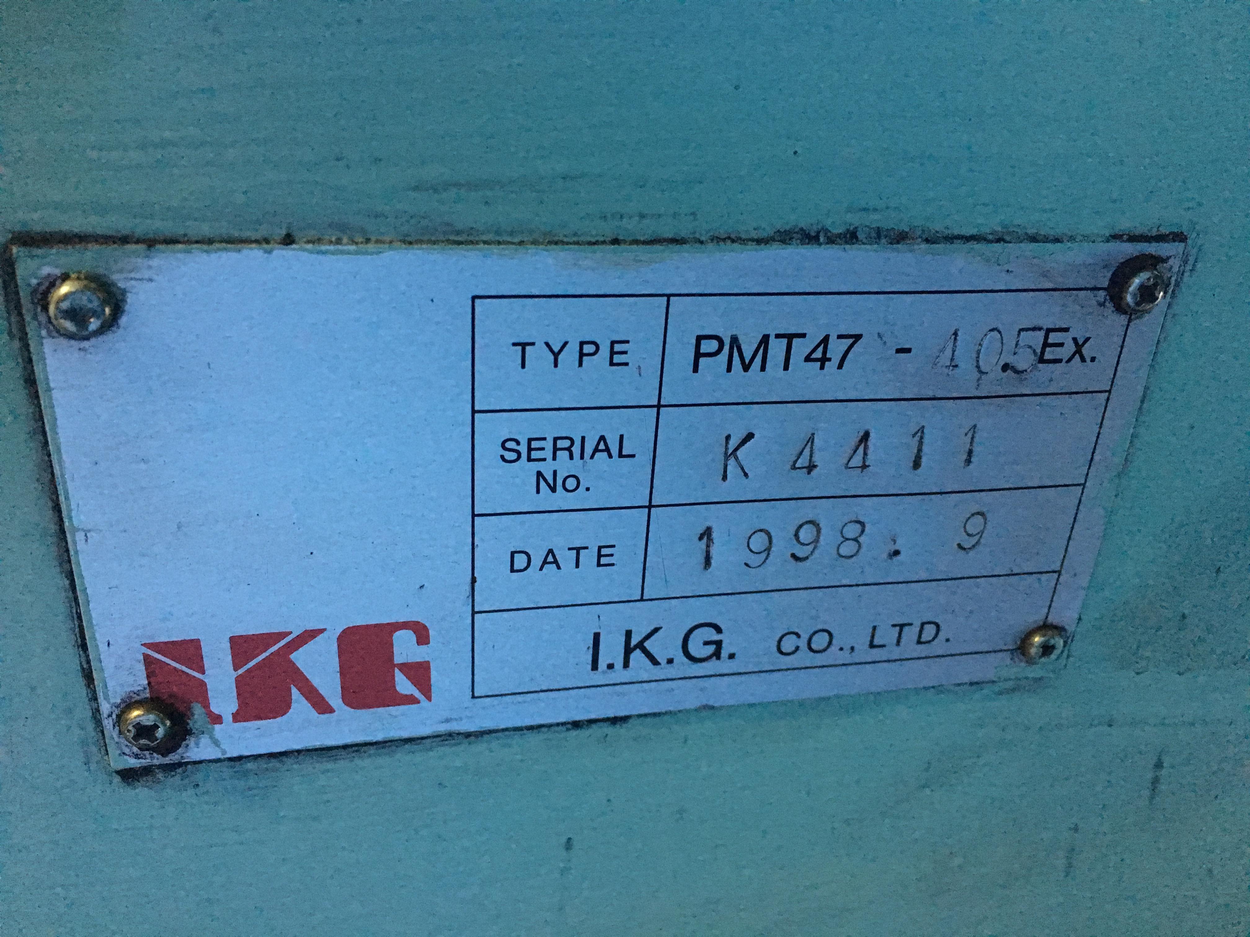 【2904011】異形押出機PMT-47-405EX 1998年 (4)