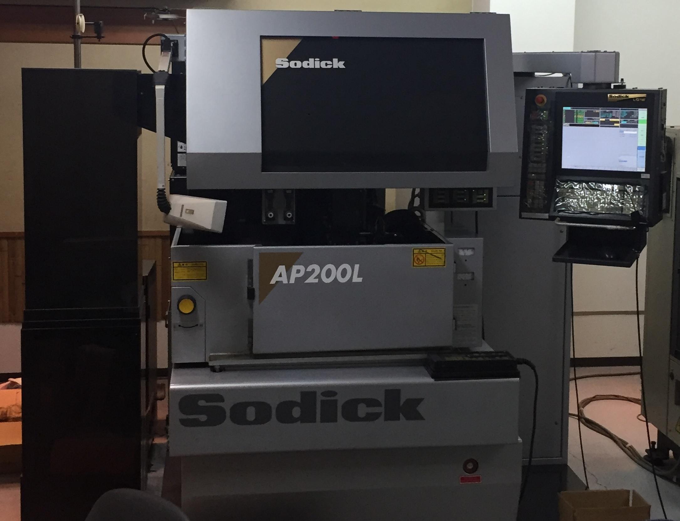 放電加工機【2710046】ソディック製放電加工機AP200L 2007年