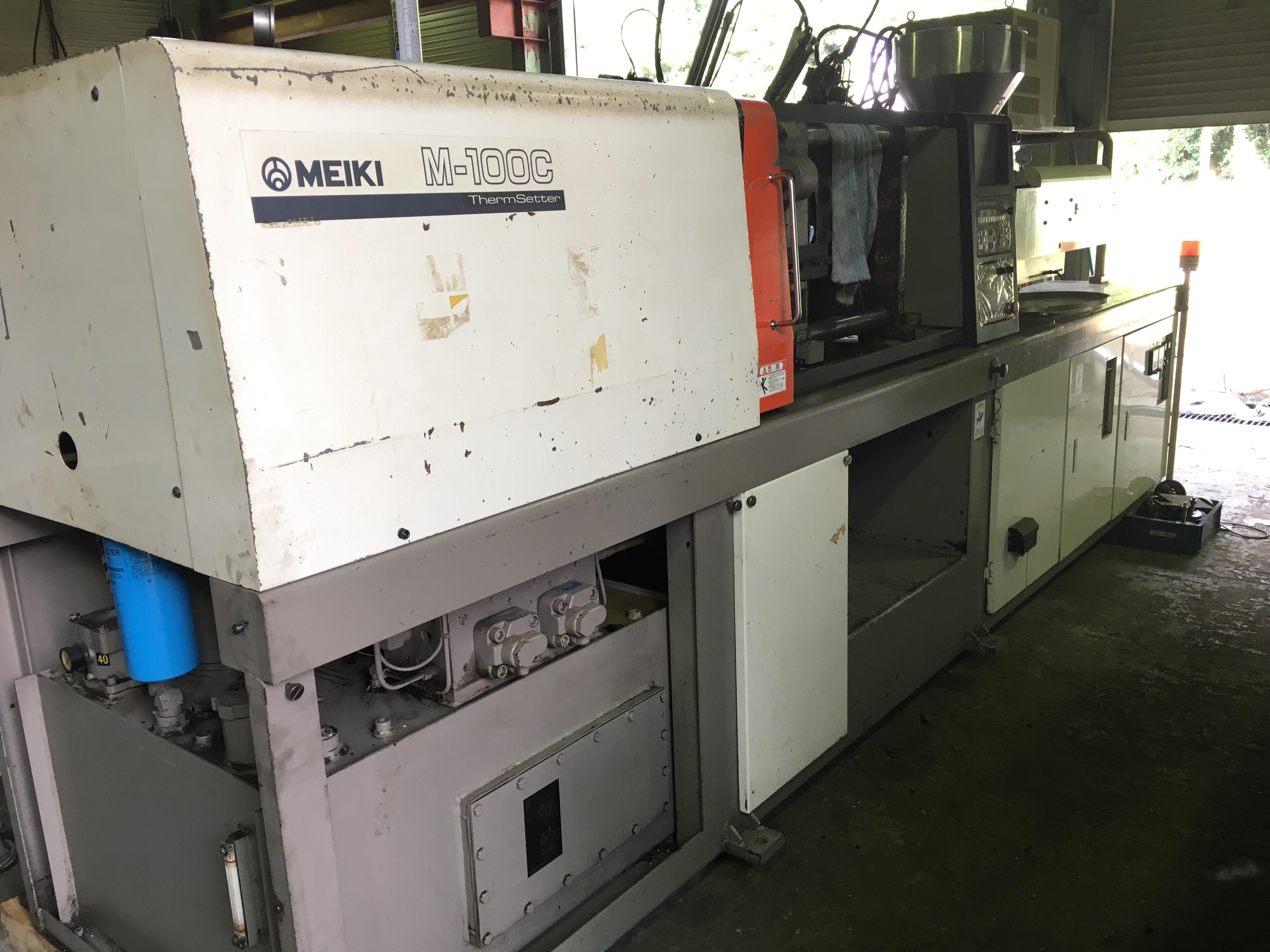 【2707004】名機製100トン成形機M-100C-TS型1997年買取