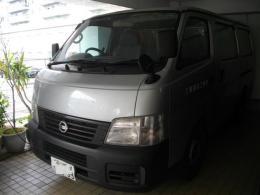 ハイエース【2102038】【東京都】日産自動車製キャラバンディーゼルAT車買取