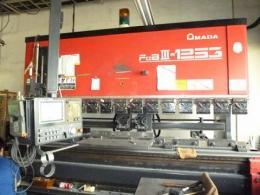 板金機械【20058222】板金機械アマダ製プレスブレーキ機械 FBD1253MH 買取