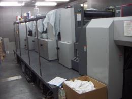 印刷機【20100121】中古印刷機リョービ製B2版高速オフセット印刷機