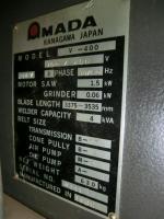 コンターマシン機械買取【2307038】アマダ製 V400 コンターマシン買取  中古機