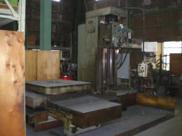 中ぐり盤【2106017】野村製作所 B-100SR テーブル型横中ぐりフライス盤