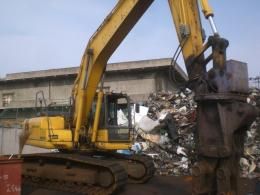 ユンボ【2007014】小松製中古建設機械ユンボPC200LC-8型買取
