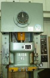 プレス機械【2203097】AIDA製中古プレス機械NC1-45買取