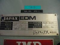ワイヤーカット【2009075】JAPAX ワイヤーカットDH-150型1973年製 買取