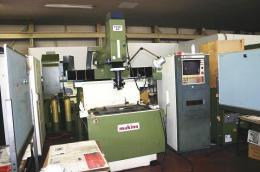放電加工機【2002021】三菱製中古NC放電加工機M35K型 1987年製買取