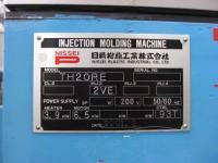 ブロー成形機【2010014】成形機日精樹脂製 2001年式TH20RE2V型買取