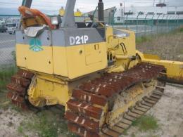 ブルドーザー【2005025】小松製中古建設機械ブルドーザーD21P-7E 1999年買取