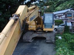 ユンボ【2009118】小松製中古建設機械ユンボPC-200-7型買取