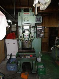 プレス機械【2006019】ワシノ製中古プレス機械PUX-25型1991年製買取