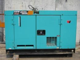 発電機【2609051-2】デンヨー製発電機DCA-400 1992年式買取
