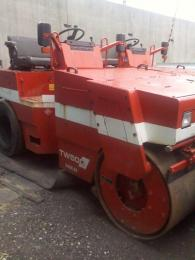 建設重機【2008301】酒井重工業製舗装用振動ロードローラーTW500
