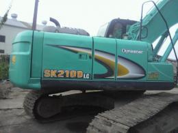 油圧ショベル【2008064】コベルコ製中古建設重機油圧ショベルSK-200-6ES 2006年製買