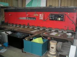 プレス機械【2007031】アマダ製中古プレス機械シャーリングM-3060 1983年製