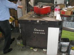 板金機械【2007031】アマダ製中古プレス機械シャーリングM-3060 1983年製