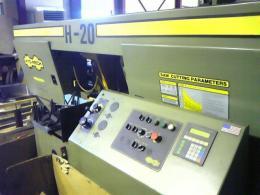 板金機械【2009012】HYD-MECHMACHINES社製製中古板金機械帯鋸盤H-20A