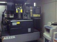 ワイヤーカット【2007071】ソディック製中古NCワイヤーカット加工機AQ325L