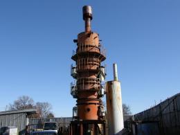 プラント設備【2001015】超高温実証溶融炉ローターリーキル炉壁2000度仕様買取