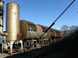 プラント設備【2001015】超高温実証溶融炉キャスタブル炉壁2000度仕様