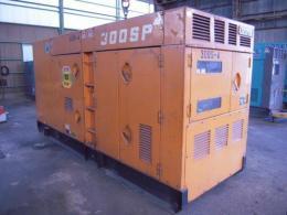 発電機【2205017】デンヨー製中古建設機械発電機DCA300SPK1989年製買取