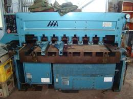 鍛圧機械【2011029】相澤鐵工所製中古板金機械シャーリングS1313型買取
