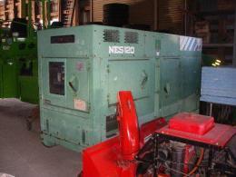建設機械【2012014】日本車輛製中古建設機械発電機NES120SK型1993年製買取