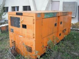 建設機械【2101094】デンヨー製中古建設機械 発電機DCA-150SPM型買取