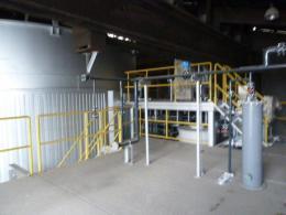 プラント設備【2101032】中古中間処理施設汚泥処理プラント設備ライン