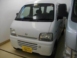 ハイエース【2102038】スズキ製エブリィバン(軽自動車)平成15年式153、000km買取